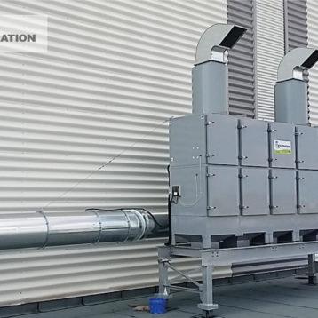 Centrale filtracji powietrza